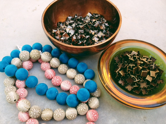 Beads and studs