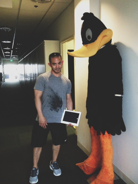Bro and daffyduck