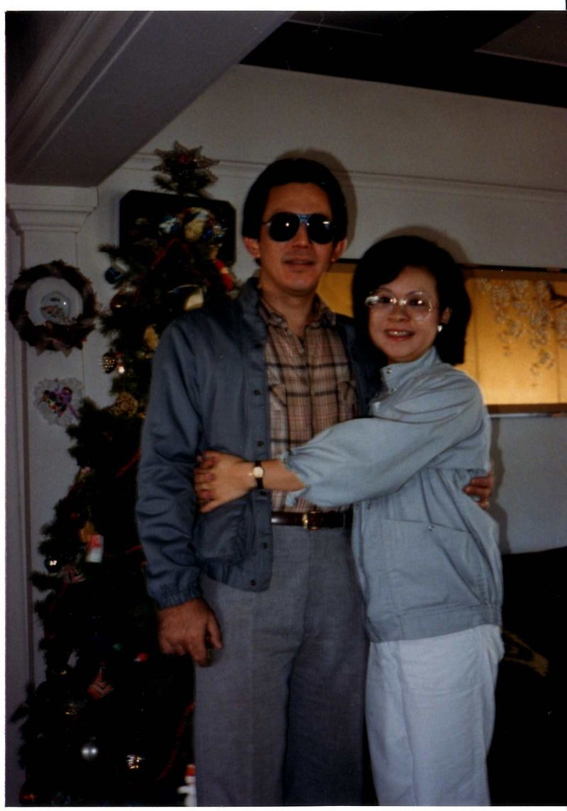 Mom and dad 12- 1986